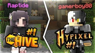 #1 Hypixel Bedwars Player meets #1 Hive Bedwars Player