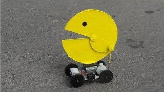 Cómo Hacer un Robot Pacman para la Diversión (muy fácil de hacer)