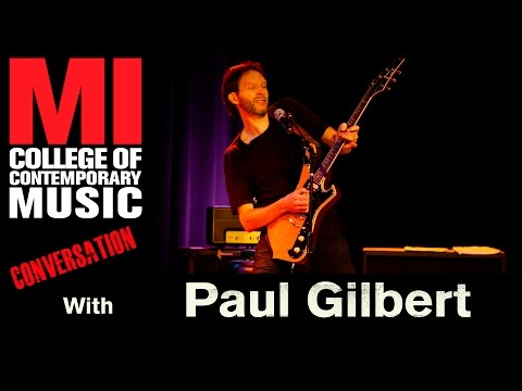 Paul Gilbert Conversation At MI