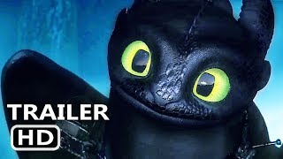 HOW TO TRAIN YOUR DRAGON 3 Trailer # 2 (2019) Animation, Adventure