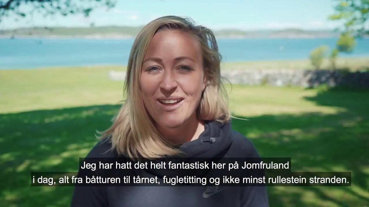 Jomfruland med Stine Hartmann