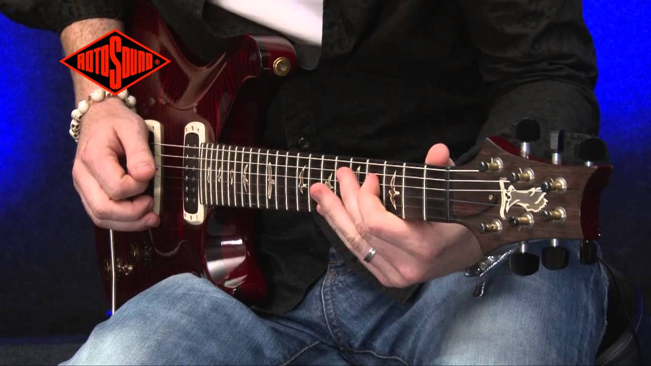 Simon Mcbride Rotosound Pure Nickel Electric Guitar Strings Youtube