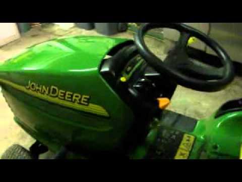 Tracteur tondeuse john deere youtube - Tondeuse john deere jm36 ...