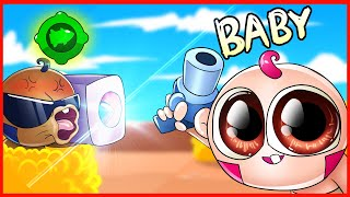 BRAWL STARS ANIMATION - BABY BRAWLERS #4