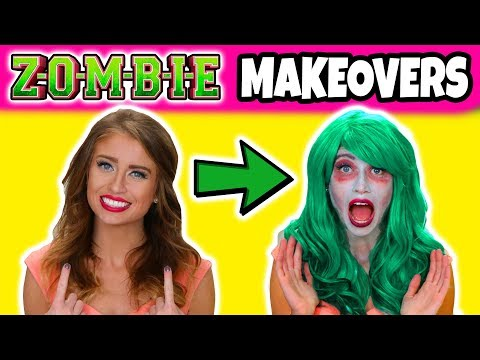 We Get 3 Zombie Makeovers Like the Disney...