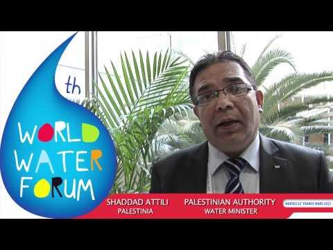 Shaddad Attili - Palestine Water Minister