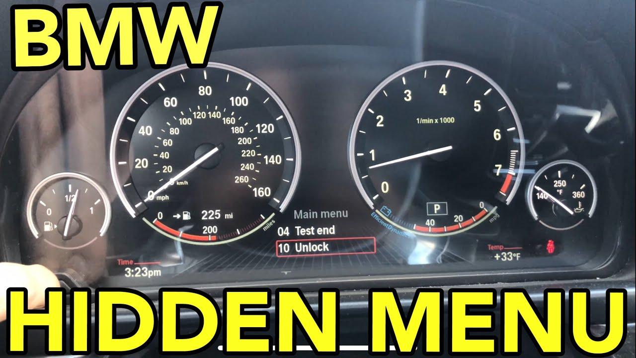 BMW Hidden Menu CiC - Coolant Temperature - F10 F11 F07 5 Series