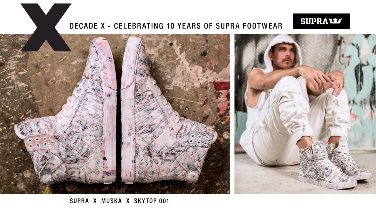 9b10273846 Supra Skytop Decade X Layers Muska | SneakerNews.com