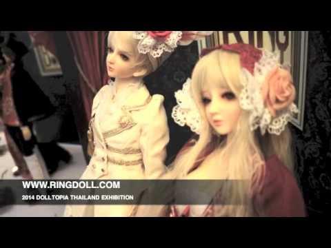 Ringdoll 2014 Thailand dolltopia exhibition