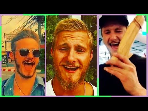 Alexander Ludwig Funny Moments BJORN from Vikings