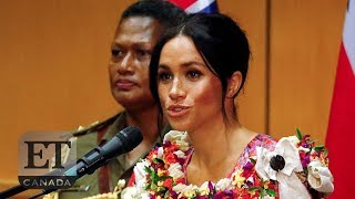 Meghan Markle Gives First Royal Tour Speech In Fiji | ROYALS
