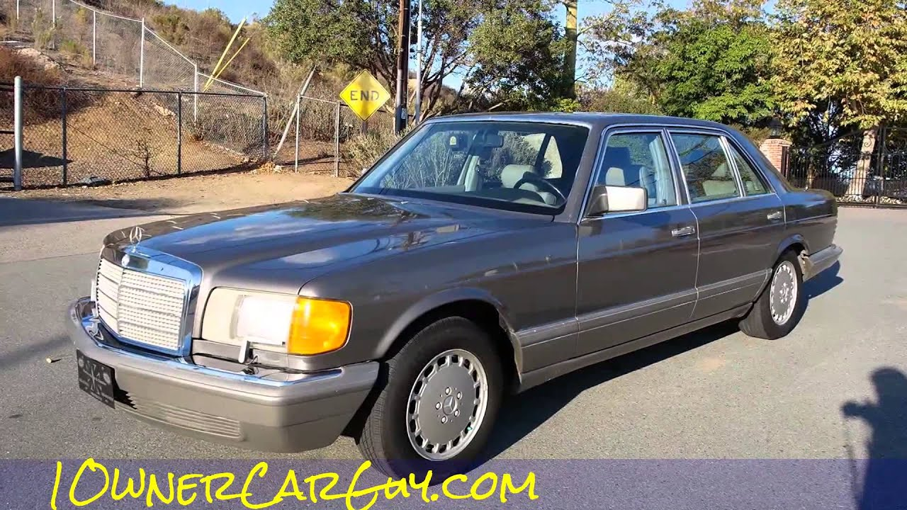 W126 Mercedes Benz 560sel Youngtimer Big Body Saloon For