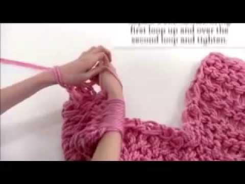 Cách đan khăn ống Hàn Quốc năm 2014