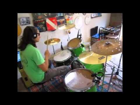 new age girl drum cover