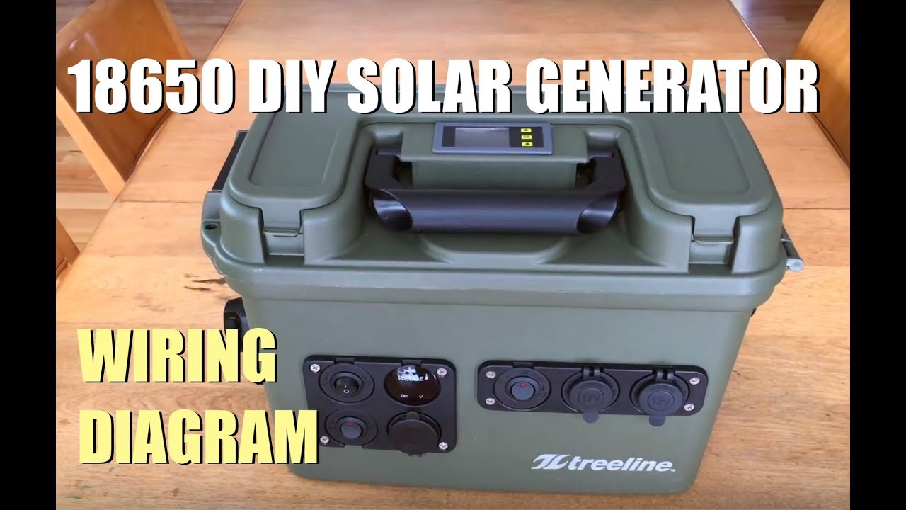 18650 Diy Solar Gernerator Wiring Diagram Donations Accepted 12v Wire