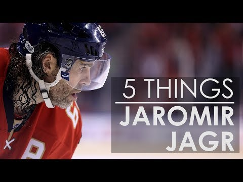 5 Things About Jaromir Jagr