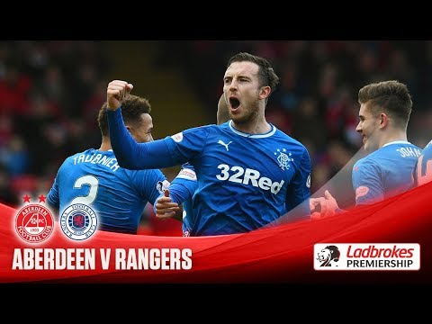 Rangers beat Aberdeen for second time in a week