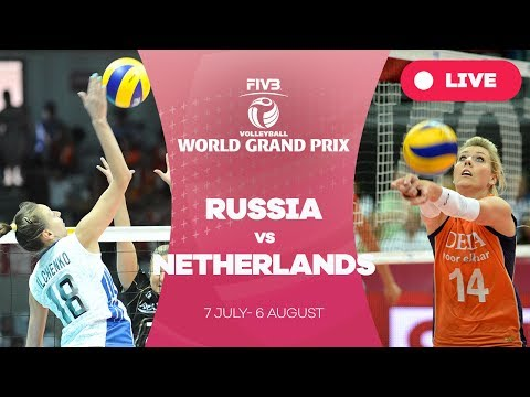 Russia v Netherlands - Group 1: 2017 FIVB Volleyball World Grand Prix