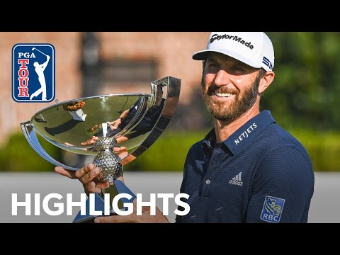 Dustin Johnson's winning highlights from the 2020 TOUR Championship 2020