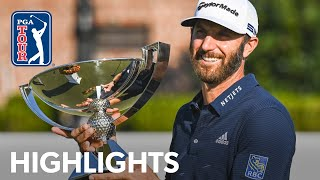 Dustin Johnson's winning highlights from the 2020 TOUR Championship