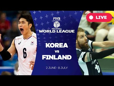 Korea v Finland - Group 2: 2017 FIVB Volleyball World League
