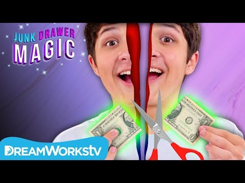 Slicing in Half Trick | JUNK DRAWER MAGIC