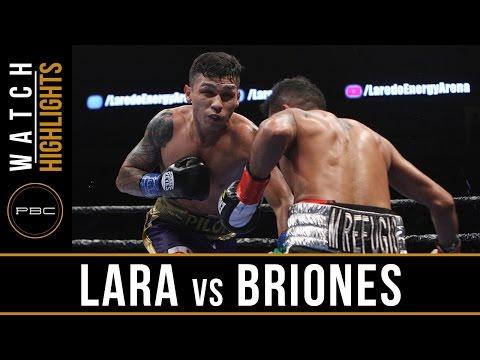 Lara vs Briones HIGHLIGHTS: May 20, 2017 - PBC on FS1