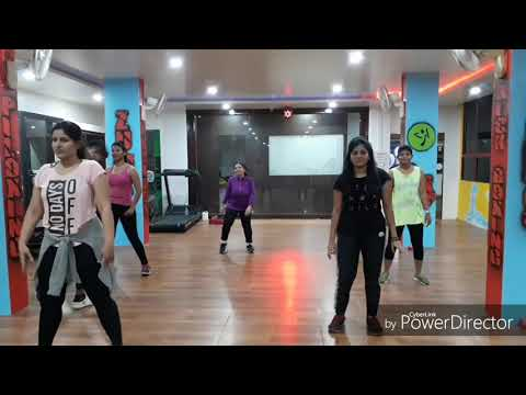 Zumba workout on Pa' La Camara | Zumba fitness | Golden fitness club Akurdi | Sagar Rajguru