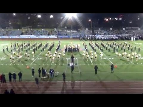 Commack HS Marching Band & Kickline - 2018 Newsday Marching Band Festival