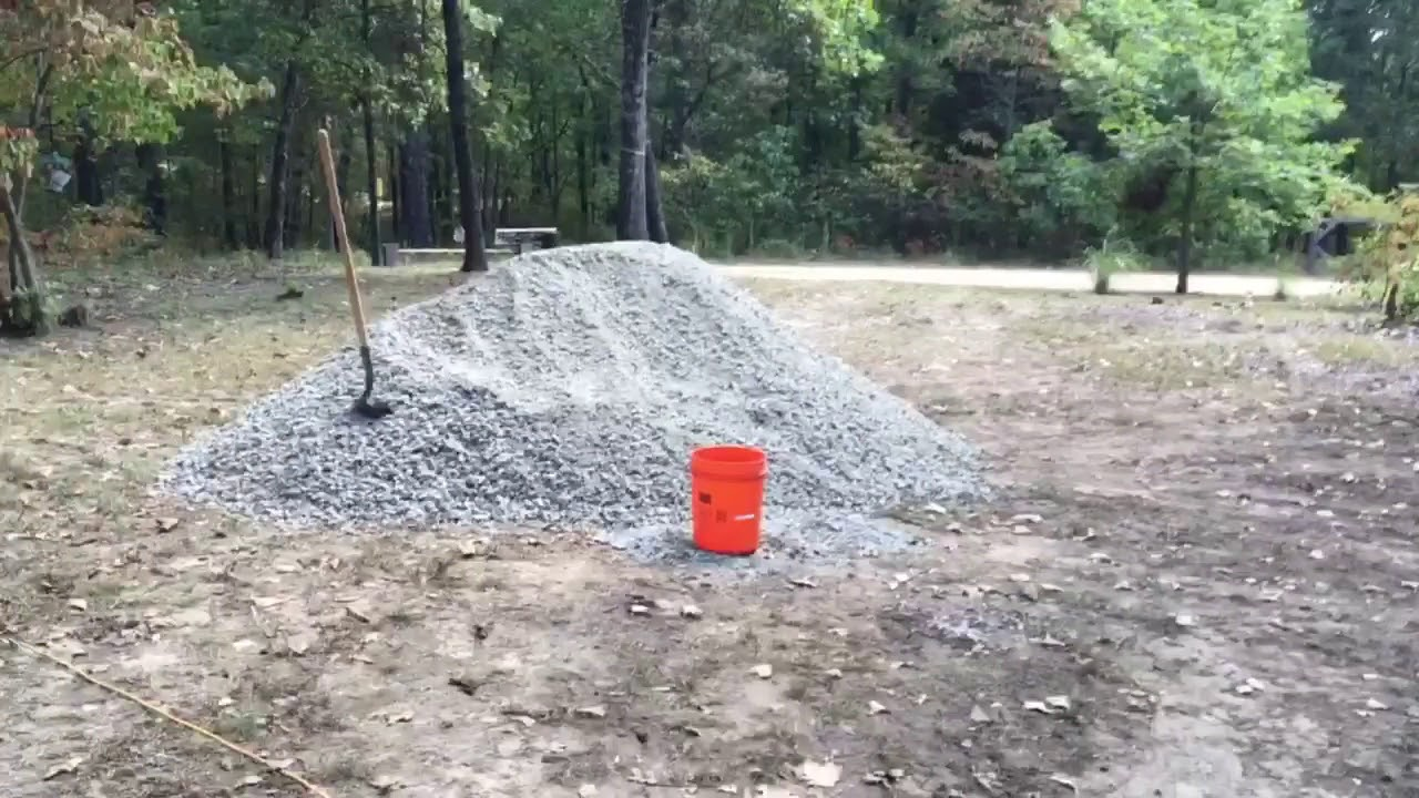 How Much Is A Ton Of Gravel >> How To Move 15 Tons Of Gravel By Hand