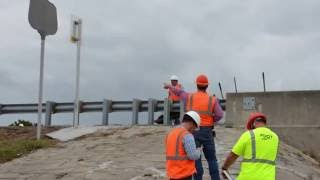 fdot emergency repair of sr 206 at matanzas river bridge