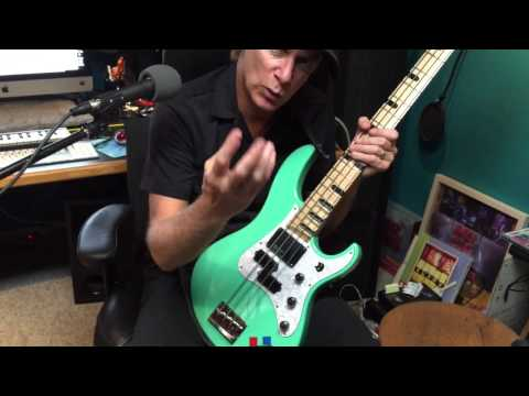 Billy Sheehan Plucking Lesson