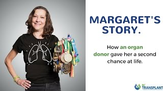 Margaret benson is a double-lung transplant recipient. listen to the moving story she told group of highschoolers at recent cystic fibrosis fundraiser.