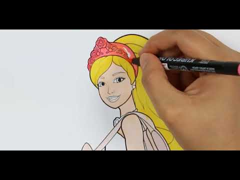 Barbie Boyama Sayfası Barbie Boyama Youtube