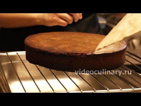 Простой шоколадный бисквит - Рецепт Бабушки Эммы