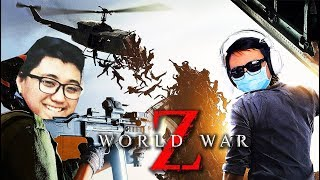 WORLD WAR Z #3: CHUYẾN TRỰC THĂNG TỬ THẦN !!! Nghẹt thở trước làn sóng zombie !!!