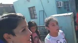 Jugadores de Colón participaron de una olla popular en barrio Santa Rosa de Lima