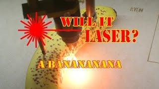 WILL IT LASER: A Banana thumbnail
