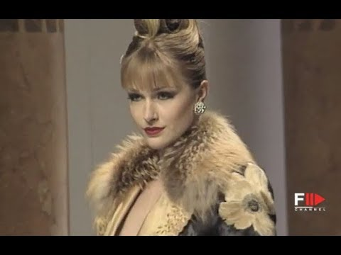 LORENZO RIVA Fall Winter 1998 1999 Haute Couture Rome - Fashion Channel