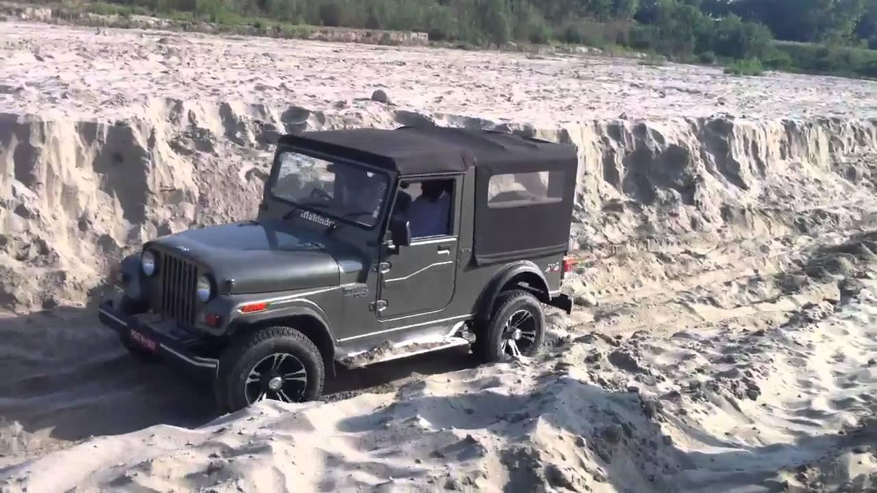 Off Roading: Mahindra Thar Off Roading Video
