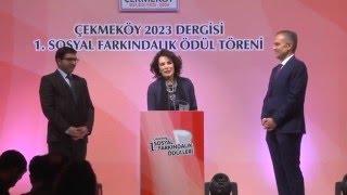 Çekmeköy 2023 dergisi 1 Farkındalık Ödül Töreni