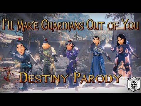 "I'll Make Guardians Out of You  Destiny Parody from Disney's ""Mulan"""