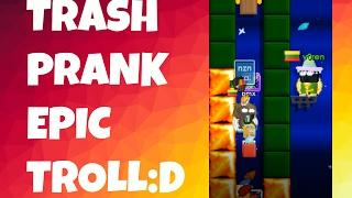 Growtopia | Trash prank EPIC TROLL:D