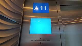 Фото ThyssenKrupp D.S.C. Destination Dispatch Traction Elevators At Nestlé Building - North York ON