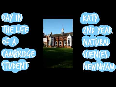 Day in the Life of a Cambridge Natural Sciences Student - #NewnTakeovers