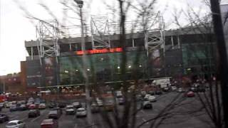 Estadio Old Trafford, Manchester United, Sergio