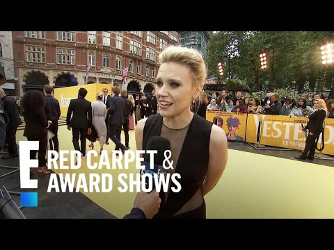 "Kate McKinnon Talks ""Yesterday"" & Gushes Over Her Costars 