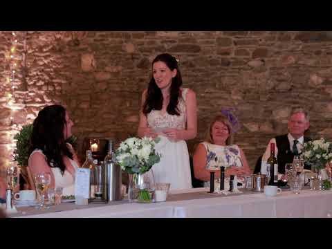 Kayleigh and Rachel's sophisticated wedding at New House Farm - a sneak peek