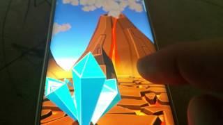 3D Cartoon Volcano Live WP