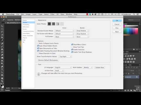 Adobe Photoshop CC Tutorial | Essential Preference Settings